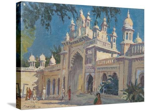 Gate, the Palace, Mysore, 2011-Tim Scott Bolton-Stretched Canvas Print