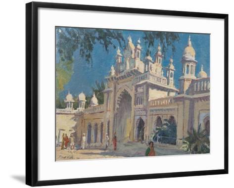 Gate, the Palace, Mysore, 2011-Tim Scott Bolton-Framed Art Print