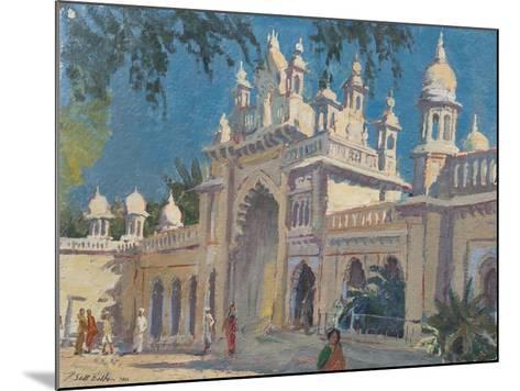 Gate, the Palace, Mysore, 2011-Tim Scott Bolton-Mounted Giclee Print