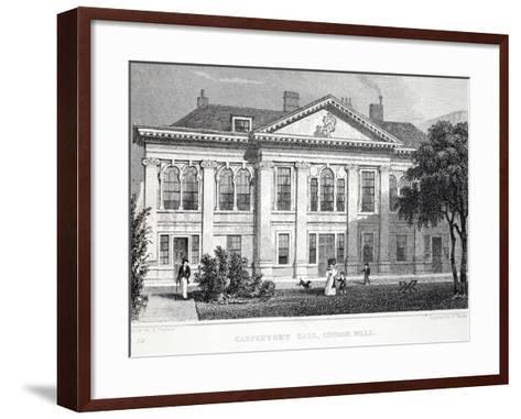 Carpenter's Hall-Thomas Hosmer Shepherd-Framed Art Print