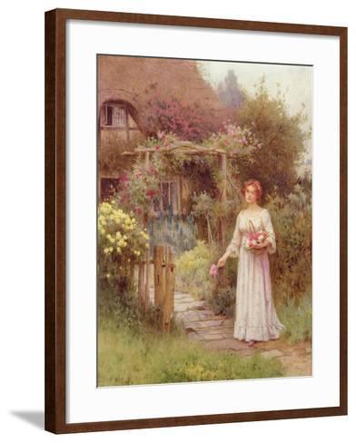At the Garden Gate-William Affleck-Framed Art Print