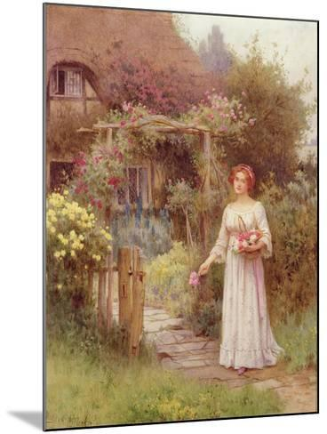 At the Garden Gate-William Affleck-Mounted Giclee Print