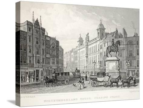 Northumberland House-Thomas Hosmer Shepherd-Stretched Canvas Print