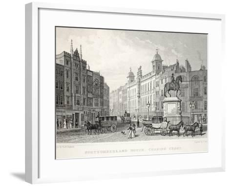 Northumberland House-Thomas Hosmer Shepherd-Framed Art Print