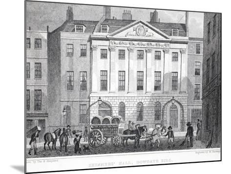 Skinner's Hall-Thomas Hosmer Shepherd-Mounted Giclee Print