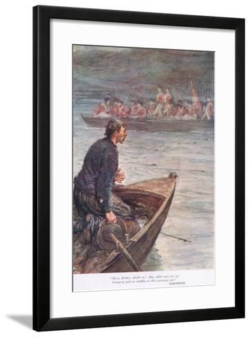 Fontenoy: Mary Mother, Shield Us! Say What Men are Ye-William Rainey-Framed Art Print