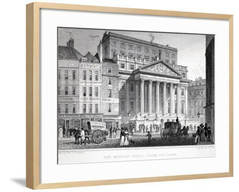 The Mansion House-Thomas Hosmer Shepherd-Framed Art Print