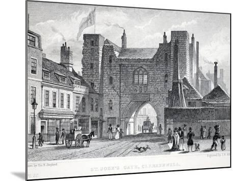 St Johns Gate-Thomas Hosmer Shepherd-Mounted Giclee Print