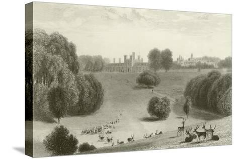 Knowle Park-William Daniell-Stretched Canvas Print