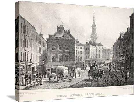 Broad Street-Thomas Hosmer Shepherd-Stretched Canvas Print
