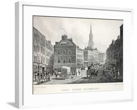 Broad Street-Thomas Hosmer Shepherd-Framed Art Print