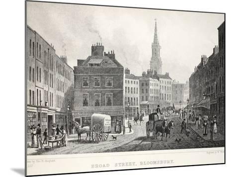 Broad Street-Thomas Hosmer Shepherd-Mounted Giclee Print
