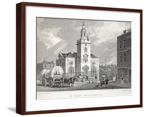 Church of St Mary-Thomas Hosmer Shepherd-Framed Art Print