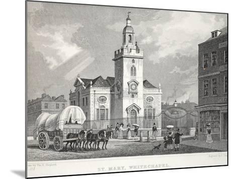 Church of St Mary-Thomas Hosmer Shepherd-Mounted Giclee Print