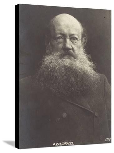 Peter Kropotkin, Russian Politicial Philosopher--Stretched Canvas Print