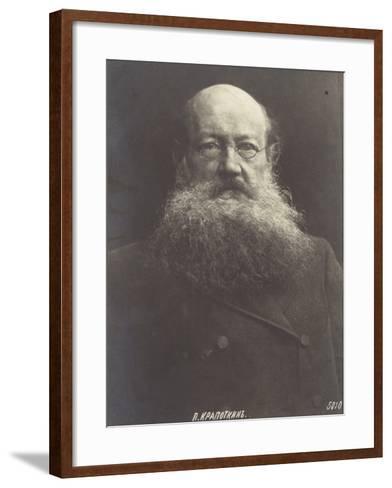 Peter Kropotkin, Russian Politicial Philosopher--Framed Art Print