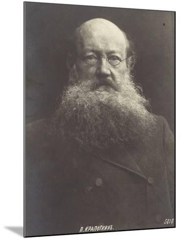 Peter Kropotkin, Russian Politicial Philosopher--Mounted Photographic Print