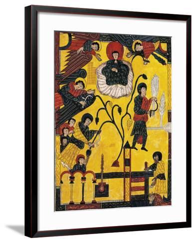Harvest and Eschatological Harvest--Framed Art Print