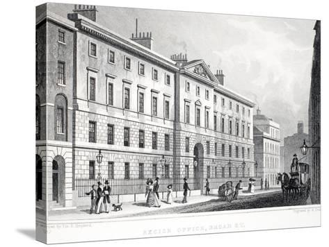 Excise Office-Thomas Hosmer Shepherd-Stretched Canvas Print