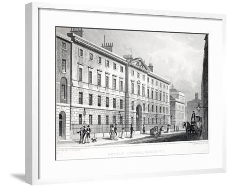 Excise Office-Thomas Hosmer Shepherd-Framed Art Print