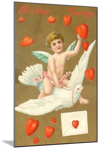 Christmas Greetings, Postcard, C.1910--Mounted Giclee Print