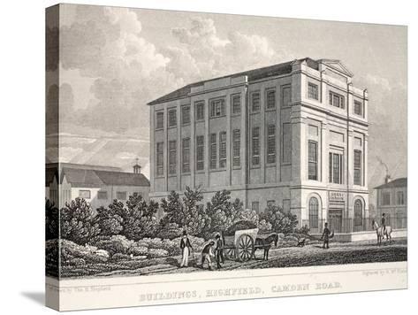 Buildings-Thomas Hosmer Shepherd-Stretched Canvas Print