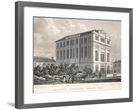 Buildings-Thomas Hosmer Shepherd-Framed Art Print