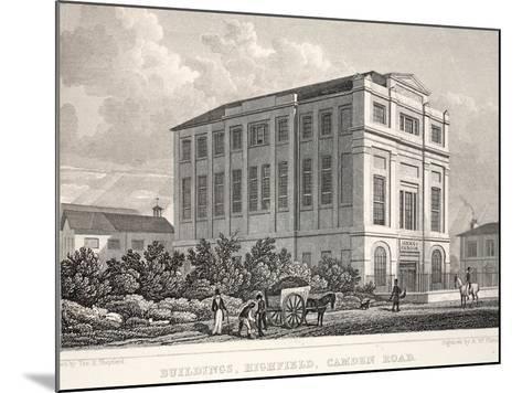 Buildings-Thomas Hosmer Shepherd-Mounted Giclee Print