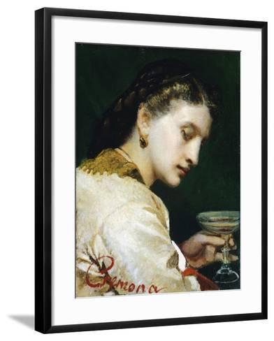 Bitter Chalice, 1865-Tranquillo Cremona-Framed Art Print