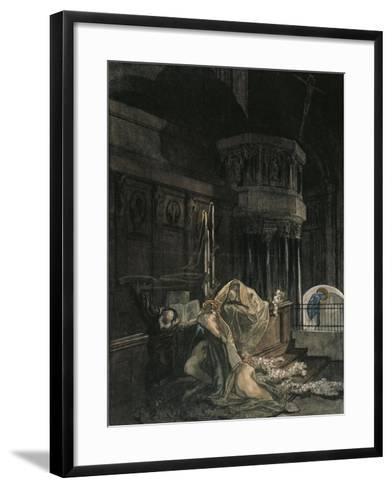 Dante Alighieri--Framed Art Print