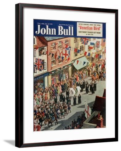 Front Cover of 'John Bull', June 1951--Framed Art Print