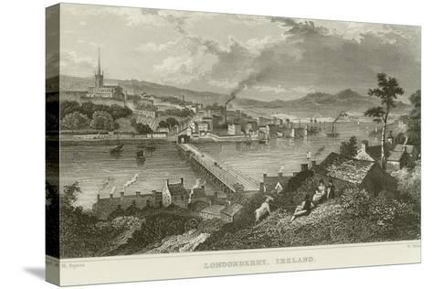 Londonderry-Thomas Mann Baynes-Stretched Canvas Print