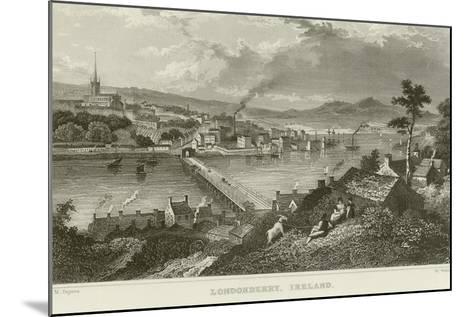 Londonderry-Thomas Mann Baynes-Mounted Giclee Print
