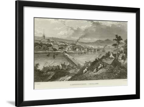 Londonderry-Thomas Mann Baynes-Framed Art Print