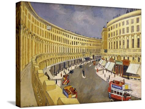 Regent Street, London-Walter Taylor-Stretched Canvas Print