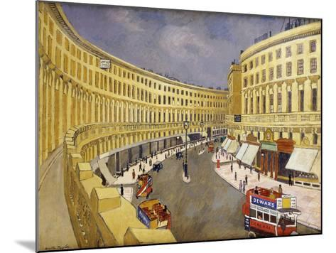 Regent Street, London-Walter Taylor-Mounted Giclee Print
