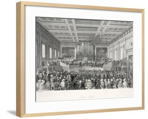 Exeter Hall-Thomas Hosmer Shepherd-Framed Art Print