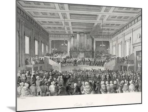 Exeter Hall-Thomas Hosmer Shepherd-Mounted Giclee Print