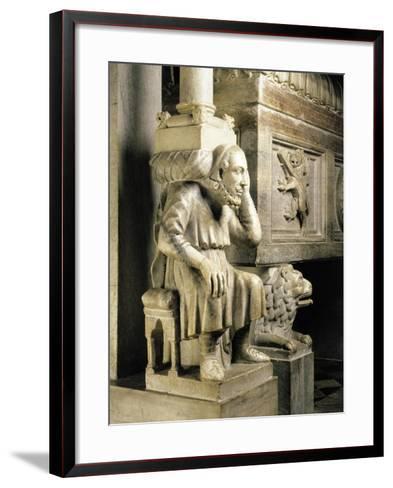 Cardinal Longhi's Tomb-Ugo Da Campione-Framed Art Print