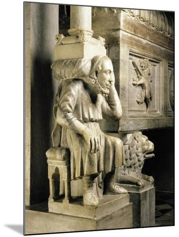 Cardinal Longhi's Tomb-Ugo Da Campione-Mounted Giclee Print