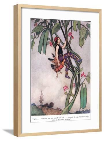 Jack Seized the Hen-Warwick Goble-Framed Art Print