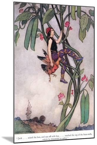 Jack Seized the Hen-Warwick Goble-Mounted Giclee Print