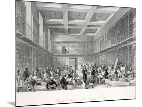 The Reading Room and Library at the British Museum-Thomas Hosmer Shepherd-Mounted Giclee Print