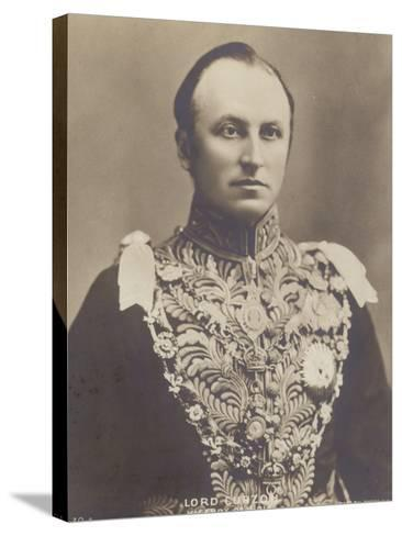 George Curzon--Stretched Canvas Print