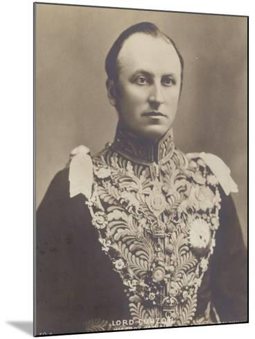 George Curzon--Mounted Photographic Print