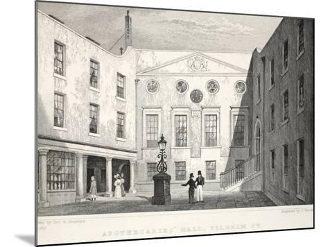 Apothecaries' Hall-Thomas Hosmer Shepherd-Mounted Giclee Print