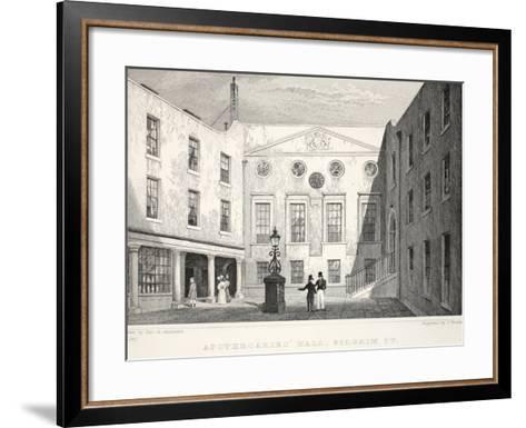 Apothecaries' Hall-Thomas Hosmer Shepherd-Framed Art Print
