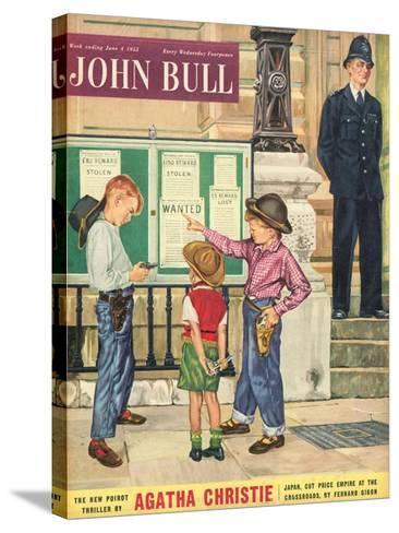 Front Cover of 'John Bull', June 1955--Stretched Canvas Print