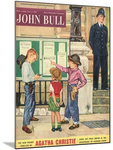 Front Cover of 'John Bull', June 1955--Mounted Giclee Print