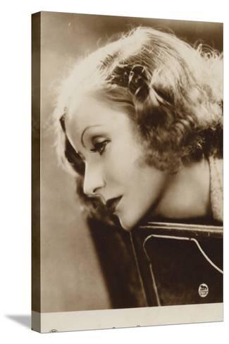 Greta Garbo--Stretched Canvas Print
